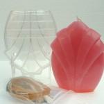 Gietmallen in polycarbonaat voor kaarsen maken als hobby