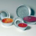 Benodigdheden en materialen als aluminium gietmallen voor buitenkaarsen