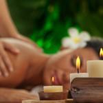 Massage kaars met aromatherapie