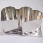 Gietmallen in metaal voor kaarsen maken