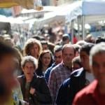 Producten verkopen op een openbare markt